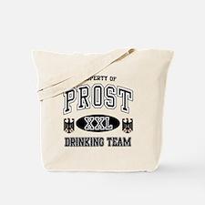 Prost German Drinking Team Tote Bag