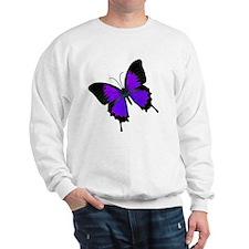 purpleswallowtail Sweatshirt