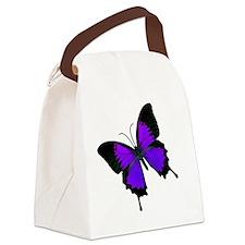 purpleswallowtail Canvas Lunch Bag