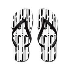 Field Hockey Sticks In Black And White Pattern Fli