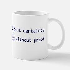 10x3_stickerBumper_ScienceIsTruth Mug