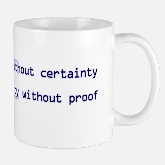 10x3_stickerBumper_ScienceIsTruth Mug