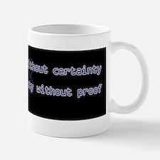 10x3_stickerBumper_ScienceIsTruthB Mug