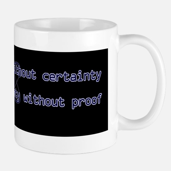 10x3_stickerBumper_ScienceIsTruthB Mug