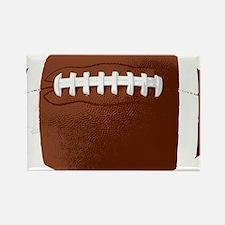 Football Rectangle Magnet