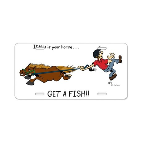 Get a fish aluminum license plate by admin cp14678981 for Where do i get a fishing license