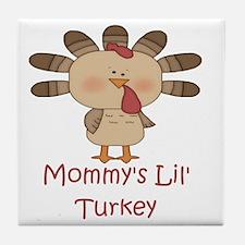 MommysLilTurkey Tile Coaster