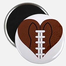Love_Football_Heart Magnet