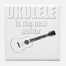 funny hawaii popular ukulele uke Tile Coaster