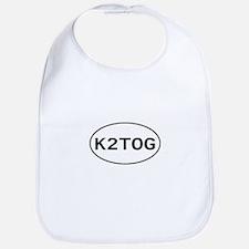Knitting - K2TOG Bib