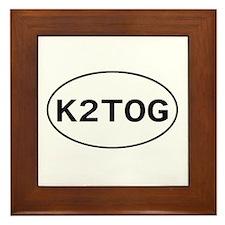 Knitting - K2TOG Framed Tile