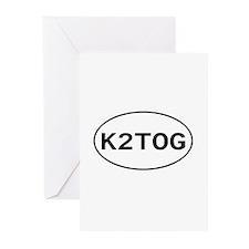 Knitting - K2TOG Greeting Cards (Pk of 10)