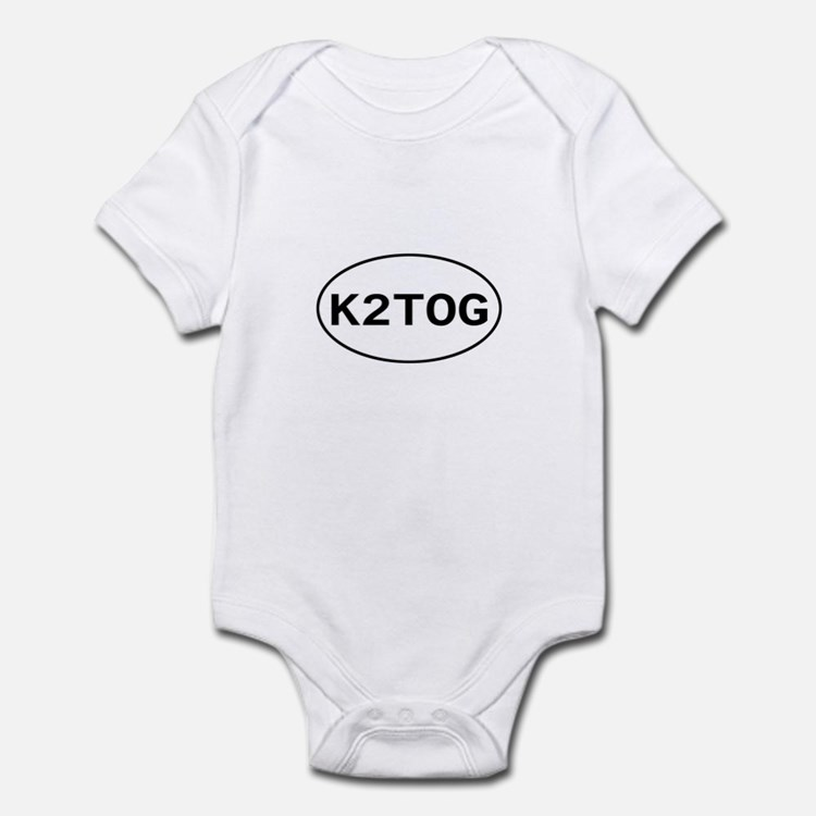 Knitting - K2TOG Infant Bodysuit