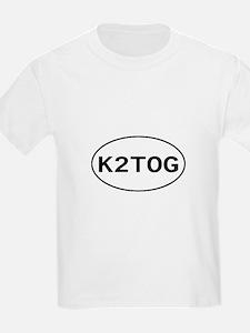 Knitting - K2TOG Kids T-Shirt