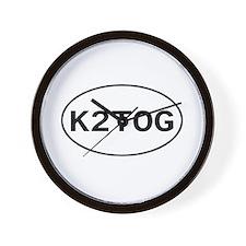 Knitting - K2TOG Wall Clock