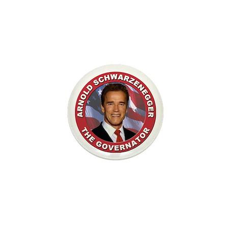 """Arnold """"Govenator"""" Schwarzenegger Mini Button (10"""
