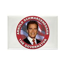 """Arnold """"Govenator"""" Schwarzenegger Rectangle Magnet"""