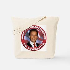 "Arnold ""Govenator"" Schwarzenegger Tote Bag"