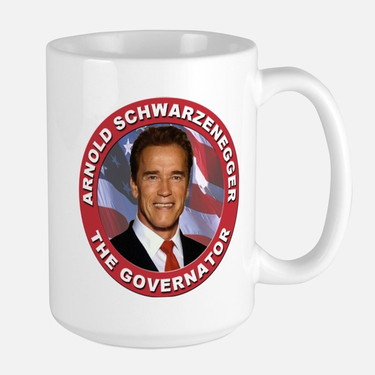 "Arnold ""Govenator"" Schwarzenegger Large Mug"