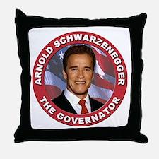 "Arnold ""Govenator"" Schwarzenegger Throw Pillow"