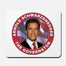 """Arnold """"Govenator"""" Schwarzenegger Mousepad"""