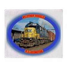 csx_tee_final Throw Blanket