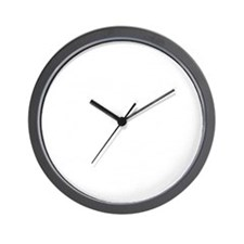 Helmet Vintage White Wall Clock