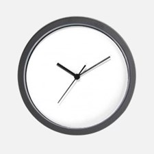 Helmet Vintage White Wall Clock