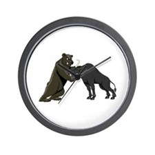 Bull vs. Bear Markets Wall Clock