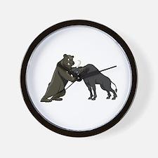 Bull vs. Bear Markets Wall Clock