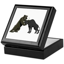 Bull vs. Bear Markets Keepsake Box