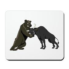 Bull vs. Bear Markets Mousepad