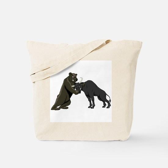 Bull vs. Bear Markets Tote Bag