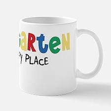 Kindergarten Is My Happy Place Mug