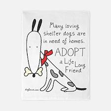 adoptlifelongdog Twin Duvet