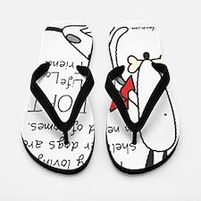 adoptlifelongdog Flip Flops