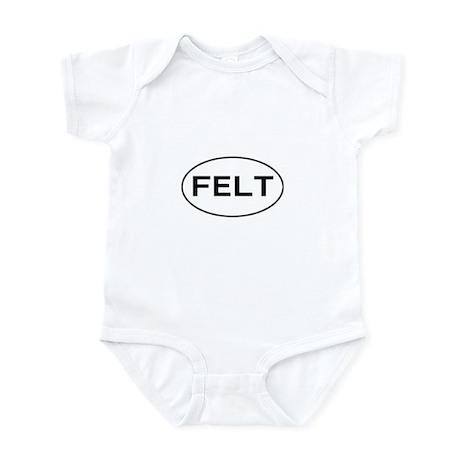 FELT - felting Infant Bodysuit
