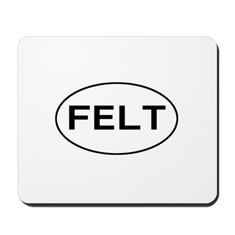 FELT - felting Mousepad