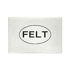 FELT - felting Rectangle Magnet