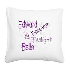 Forever Twilight E  B Square Canvas Pillow