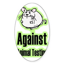 againstanimaltesting Decal