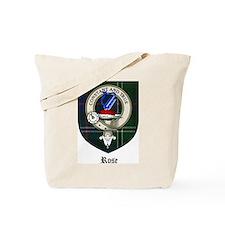 Rose Clan Crest Tartan Tote Bag