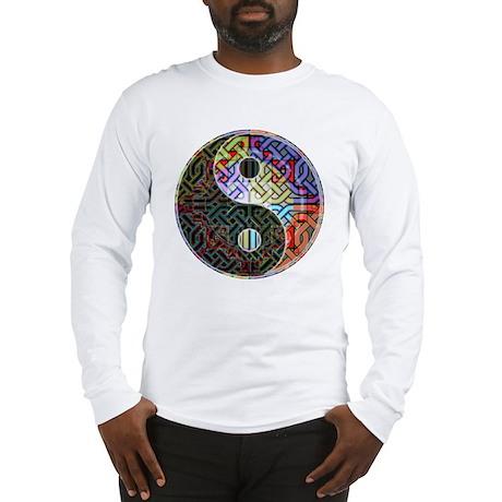 yin_yang_celt_knot10x10_200dpi Long Sleeve T-Shirt
