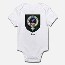 Rose Clan Crest Tartan Infant Bodysuit