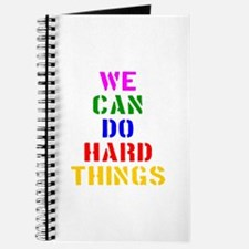 We Can Do Hard Things Journal