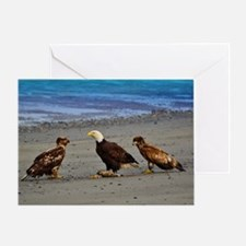 Double Trouble The Stand Off Greeting Card