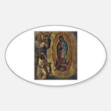Juan Diego - Guadalupe Oval Decal