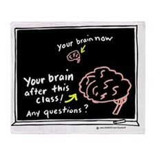 Your Brain Throw Blanket