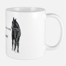 2 foals Thank You Mug