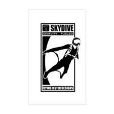 Gravity Fueled Wingsuit Skydiving Decal